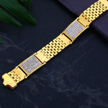 916 Gold Designer Mens Exclusive Bracelet  MCB79