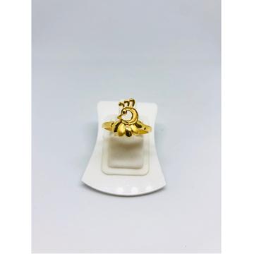 916 Gold Peacock Design Ring For Women KDJ-R010 by