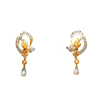 22K Gold Designer Earrings MGA - BTG0111