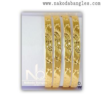916 Gold Khilla Bangles NB - 1378