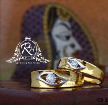 22 carat gold classic couple rings RH-CR811