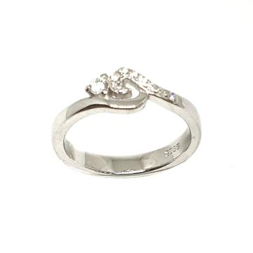 925 Sterling Silver Designer Ring MGA - LRS3388