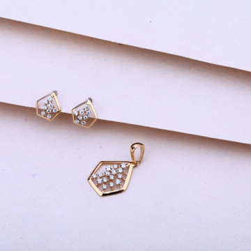 Pendalset rosegold by