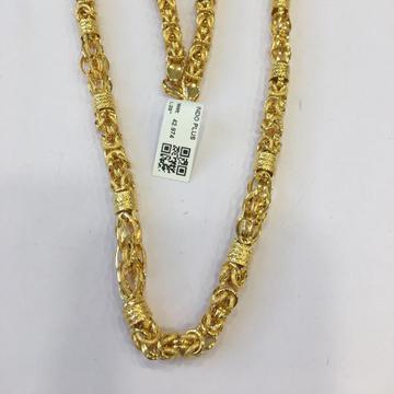 22KT Yellow Gold Shravya Chain For Men