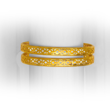 GOLD CLASSY DESIGNED COPPER BANGLE KADLI