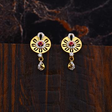 Ladies Fancy 22K Earrings-LFE123