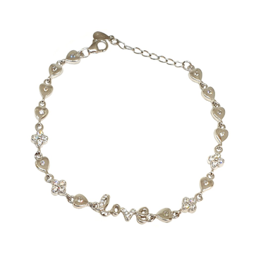 925 Sterling Silver Love Bracelet MGA - BRS1758