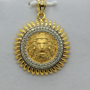 22k /916 executive gents chain pendant by Shree Sumangal Jewellers