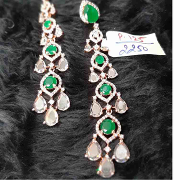 Fancy Diamond earrings P-125