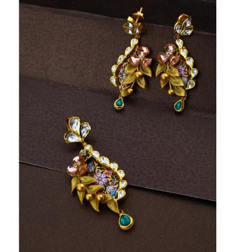 22KT Gold Hallmark Elegant Design Pendant Set