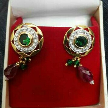 22KT Gold Ladies Earrings