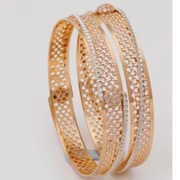 22 kt 916 gold fancy bangle by
