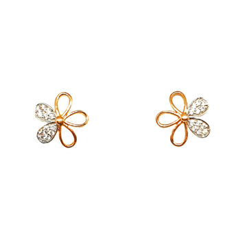 18K Rose Gold Designer Earrings MGA - BTG0330