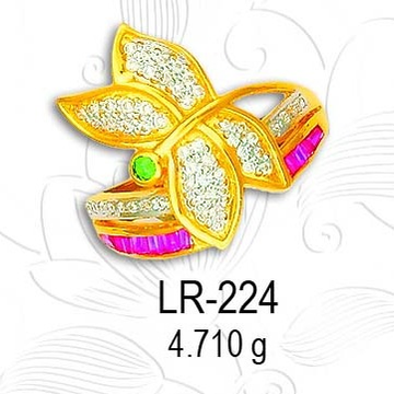 916 lADIES RING LR-224