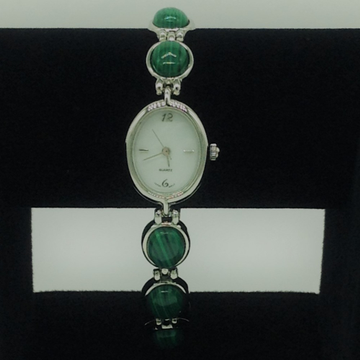 Natural melagite oval designer watch jbg0230