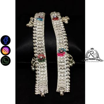 silver traditional baccha payal RH-BP727