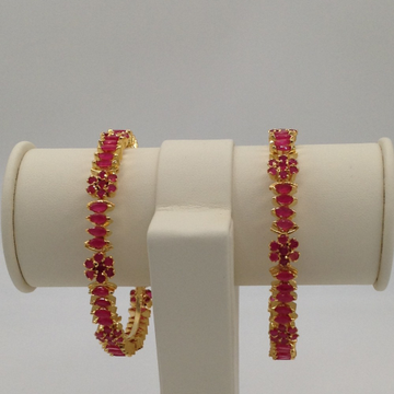 Red CZ Fancy Bangles JBG0023