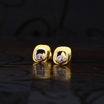 916 Gold Exclusive Solitare Earring LSE187
