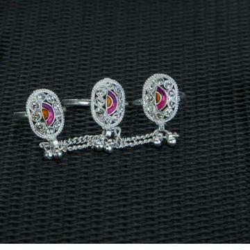 Casting tripal chain rajkoti bichiya ferva(toe ring) ms-3960