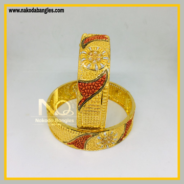 916 Gold Calcutty Bangles NB - 432