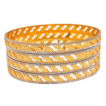 1 gram gold forming 4 piece bangles mga - bge0073