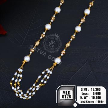 916 gold mala MLG-0126