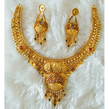 Gold Great Necklace Set Butii by