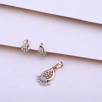 Pendent set rosegold by