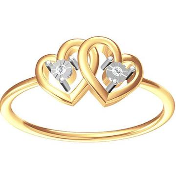 18k gold real diamond ring mga - rdr0016