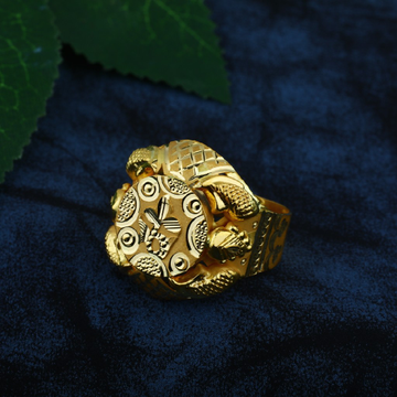 plain gold rings (vinti) by