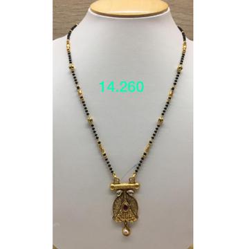 916 Gold Antique Mangalsutra IO-M07