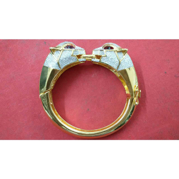916 Gold Gents Fish Style Ring