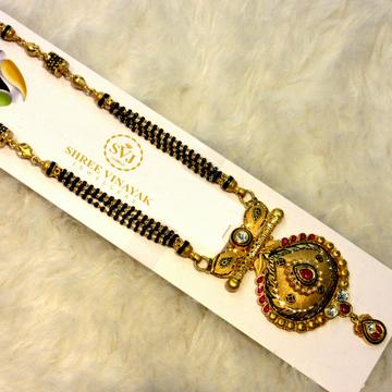 22k Hallmark Antique Mangalsutra by