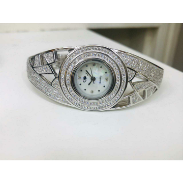 92.5 Sterling Silver Quartz Hollow Hand Watch Ms-2... by