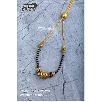 22 Carat 916 Ladies handy antique mangalsutra with... by