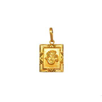 18K Gold Om Pendant MGA - PDG0238