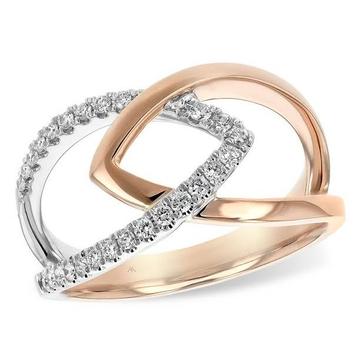 nysha mix cz diamond ring lR 008