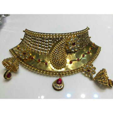 Kundan Jadu Minakari Necklace