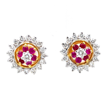 Ruby & Diamond Traditional Vati Maharashtrian Kudi 7TOP74