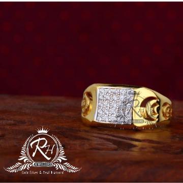 22 carat gold fancy ring gents RH-GR823