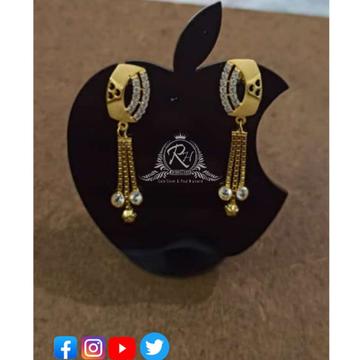 22 carat gold classical earrings RH-ER435