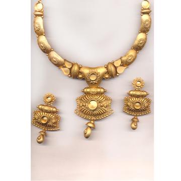 Kundan Jewelry Set Khokha OM - N21