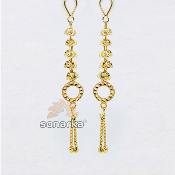 Changeable earring drops in gold sk - e002 by