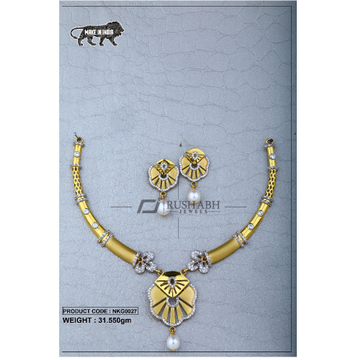 22 Carat 916 Gold Ladies necklace nkg0027