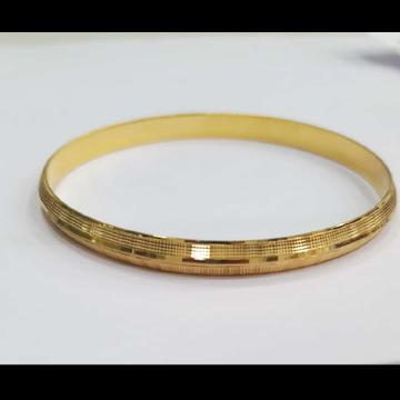 gold punjabi kada by Dagina Jewellers