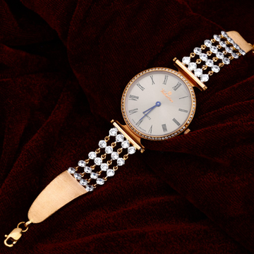 Rose Gold Ladies Watch-RLW77