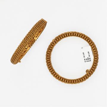 916 Gold Trendy Bangle SJ-6947 by