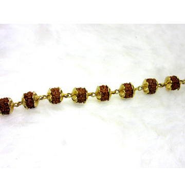 Gold Rudrax Single Line Bracelet