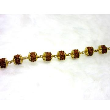 Gold Rudrax Single Line Bracelet