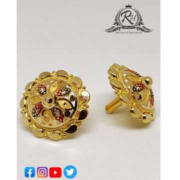 22 carat gold gol earrings RH-ER253